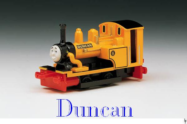 "Duncan The ""Rock 'n' Roll"" Engine"