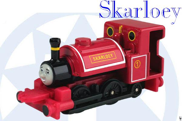Skarloey The Brave Engine