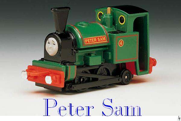 "Peter Sam The ""Special Funnel"" Engine"