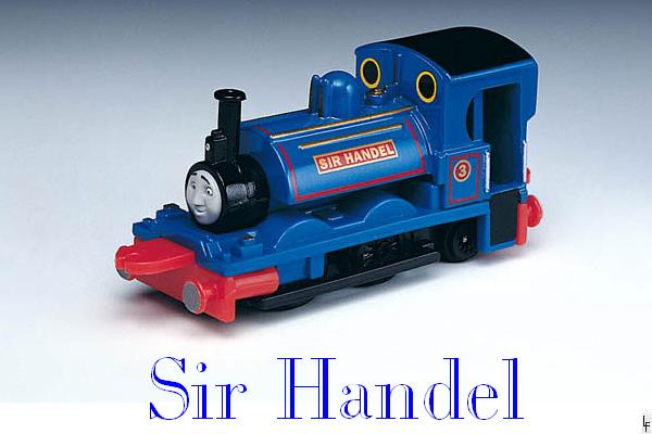 "Sir Handel The ""Steamroller"" Engine"